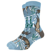 Men's Crew Socks Sea Otters Marine Mammals