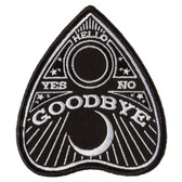 Planchette Oujia Spirit Board Pointer Patch Embroidered Iron On Applique
