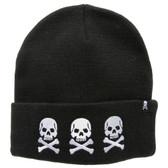 Skull and Crossbones Beanie Winter Hat