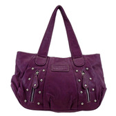 Magenta pink shoulder bag.
