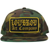 Lowbrow Art Company Camo Snap Back Trucker Hat