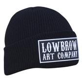 Lowbrow Art Company Western Beanie Knit Winter Hat