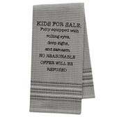 Funny Novelty Cotton Kitchen Dishtowel Kids For Sale