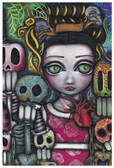 Viva La Vida by Abril Andrade Fine Art Sugar Skulls