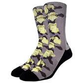 Men's Crew Socks Monkey See No Evil