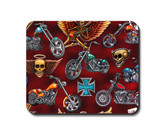 Choppers motorcycles mouse pad.