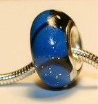 Blue Morpho Butterfly Jewelry Bead