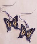 Tiger Swallowtail Butterfly Earrings 427Z