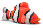 Melissa and Doug - Bubbles Clown Fish Stuffed Animal