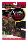Melissa and Doug - Scratch Artå¬ Color-Reveal Pictures - Butterflies & Flowers
