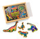 Melissa and Doug - Wooden Dinosaur Magnets