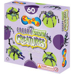 Zoob Creepy Glow Creatures Building Set - Make Spiders, Scorpions & More!