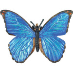 Blue Morpho Butterfly Replica