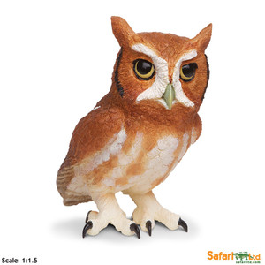 Eastern Screech Owl Replica - Incredible Creatures Collection