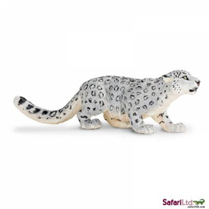 Beautifully hand-painted snow leopard is very realistic and great for play and dioramas.