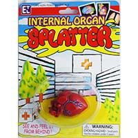 Heart Organ Splatters Putty Toy 20121H
