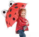 Child's LadyBug Stick Umbrella