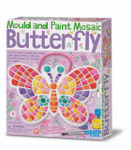 Mould & Paint Mosaic Butterfly Craft Kit