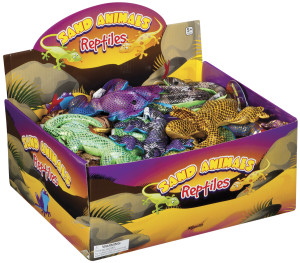 Reptile Sand Filled Toys Frogs Geckos Snakes Reptiles