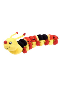 Caterpillar Stuffed Animal - Red & Yellow 11819