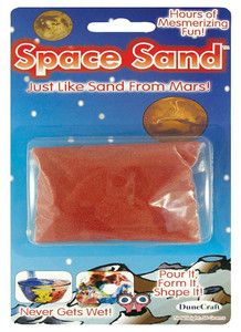 Space Sand -Never Gets Wet!
