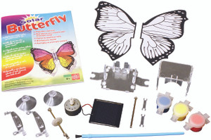 Solar Powered Butterfly Model and Science Kit EDU37534