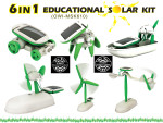 6 in 1 Educational Solar Science Kit - Beginner Building Kit OWI-MSK610