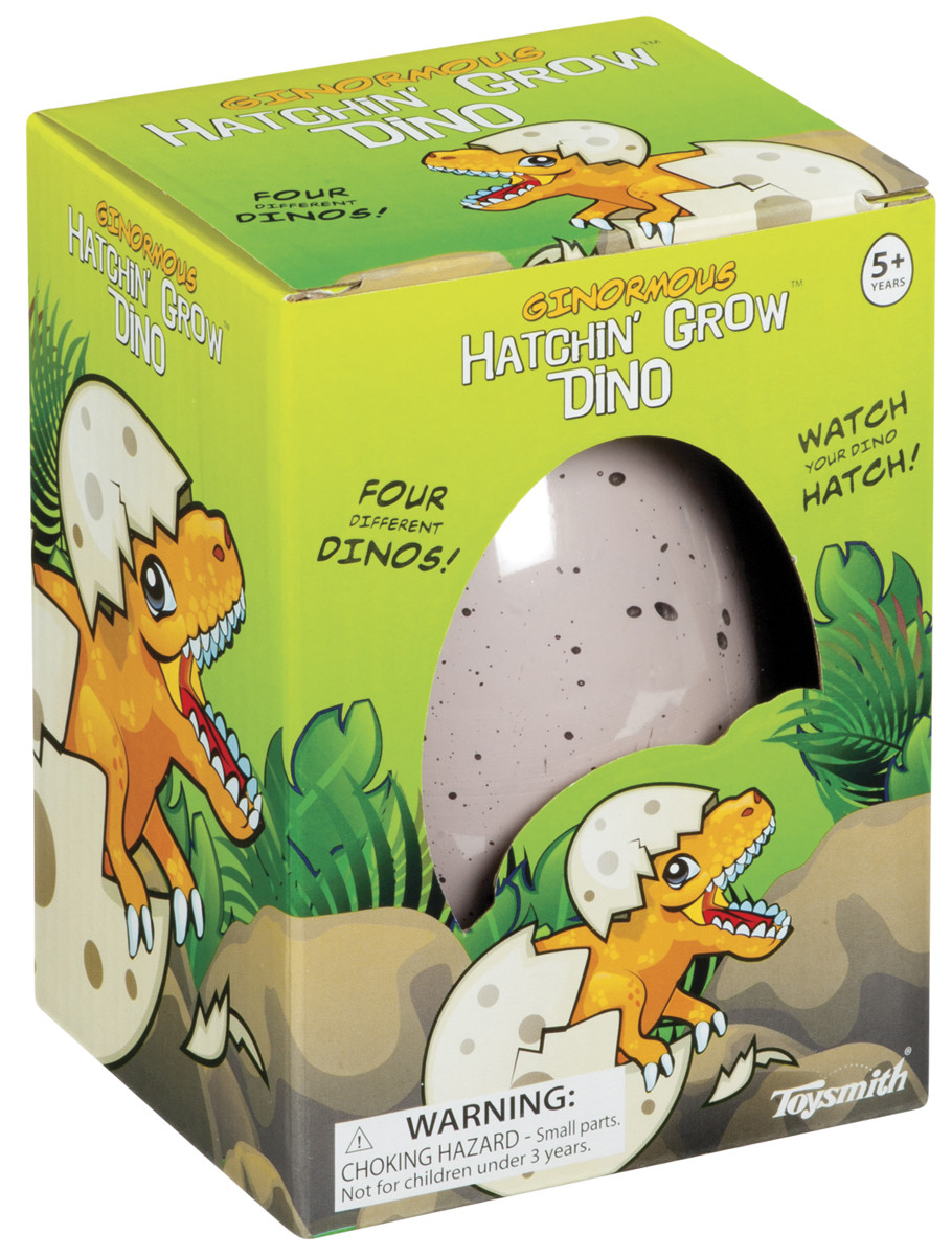 Ginormous Hatchin' Grow Dino Egg - Grow in Water Toy ...