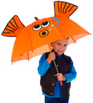 Child's Goldfish Stick Umbrella 2320