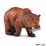 Grizzly Bear Replica: North American Wildlife Collection