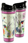 Hummingbird Vintage Bird Tall Acrylic Tumbler 24oz.