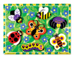 Melissa and Doug - Insects Chunky Puzzle - 7 Pieces  3729