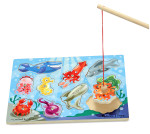Melissa and Doug - Fishing Magnetic Puzzle Game