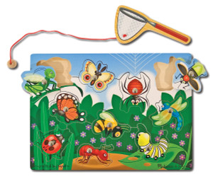 Melissa and Doug - Bug-Catching Magnetic Puzzle Game