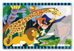 Melissa and Doug - Safari Social Floor Puzzle