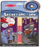 Melissa and Doug - Secret Decoder Game Book - ON the GO Travel Activity Book