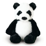 Melissa and Doug - Bamboo Panda Bear Stuffed Animal