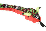 "Colorful Snake 70"" Stuffed Animal"