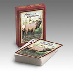 Our Playing Cards are poker-sized decks with standard playing card faces and a full-color wildlife illustration on the back of each card. Interesting wildlife information is featured on the back of each deck's box.Features the Quote:‰ÛÏJust as the current can determine the course of the stream, our attitude can determine our direction through life.‰Û