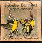 American Goldfinch Earrings