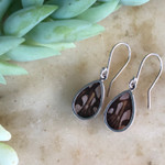 Juno Silverspot Butterfly Earrings - Fair Trade BUTE-JUN