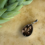 Juno Silverspot Butterfly Pendant - Fair Trade  - BUTP-JUN