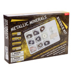 Metallic Minerals Science Kit - Discovery and Learning - Tedco (00073 )