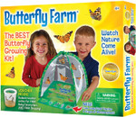 Insect Lore Butterfly Farm, Green With Certificate for Caterpillars LATER