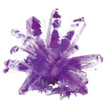 Amethyst Purple Magic Crystal Growing Kit (MC1003)