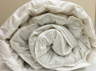 Wool Filled Comforter with Organic Cotton Cover