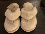 Flip Flop Wool Slippers