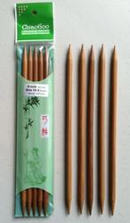 "8"" ChiaoGoo Bamboo Double Point Knitting Needles"