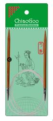 """40"""" ChiaoGoo Bamboo Circular Knitting Needles"""