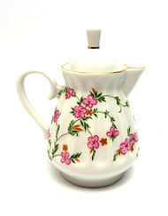 Flowering Sprigs Creamer with Lid